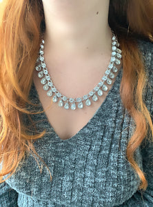 Florence Teardrop Crystal Necklace