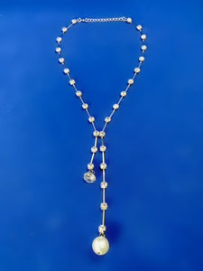 Remini Long Crystal Chain