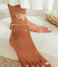 Load image into Gallery viewer, Palma Anklets Set