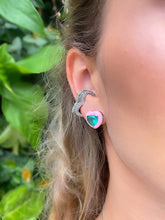 Load image into Gallery viewer, Rochelle Heart Ear Cuffs