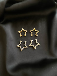 Sylt Star Ear Cuffs