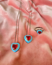 Load image into Gallery viewer, Narbonne Crystal Heart Necklace
