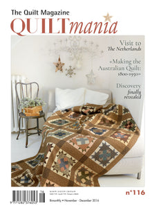 Quiltmania Issue 116