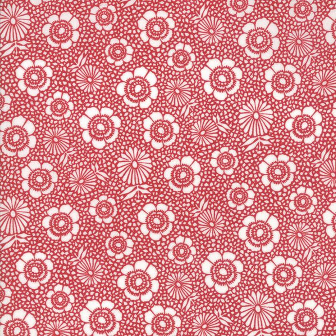 Oxford Prints Red 5710-17