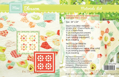 Mini Blossom Pattern by Fig Tree & Co
