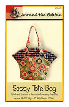Load image into Gallery viewer, Sassy Tote Bag Pattern