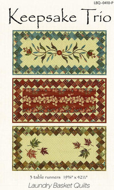 Keepsake Trio Pattern LBQ-0410-P