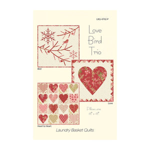 Love Bird Trio Pattern LBQ-0702-P
