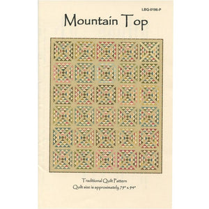 Mountain Top Quilt Pattern LBQ-MT01-P