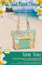 Load image into Gallery viewer, Tahiti Tote Bag Pattern