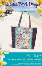 Load image into Gallery viewer, Fiji Tote Bag Pattern