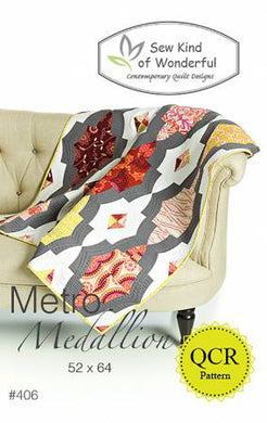 Metro Medallion by Sew Kind of Wonderful