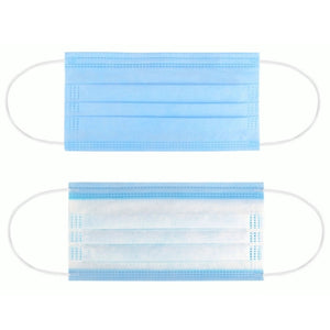 DISPOSABLE FACE MASK ($37.99 / box of 50)