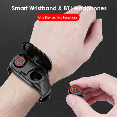 Image of 2 in 1 Smart Watch with Earbuds