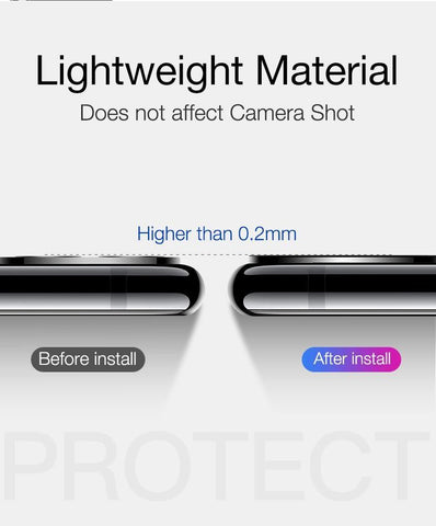 Image of Camera Lens Protector for iPhone 11 pro Max HD Clear Camera Tempered Glass
