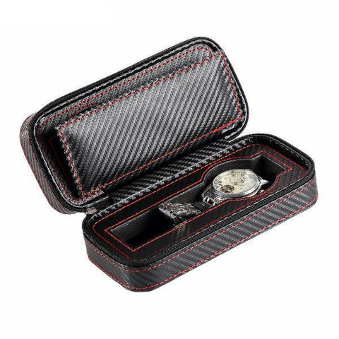 2 Slot Personalized Luxury Watch Case
