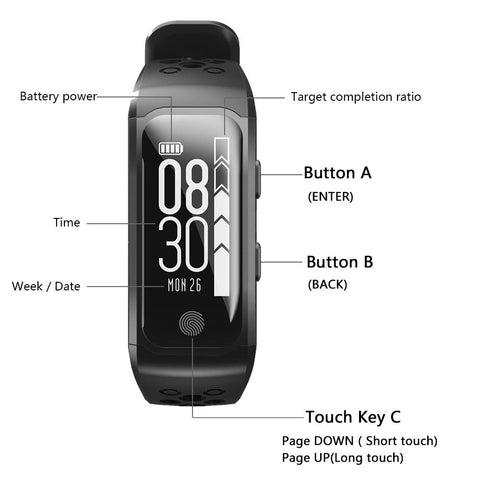 Image of S908 GPS Fitness Smart Watch