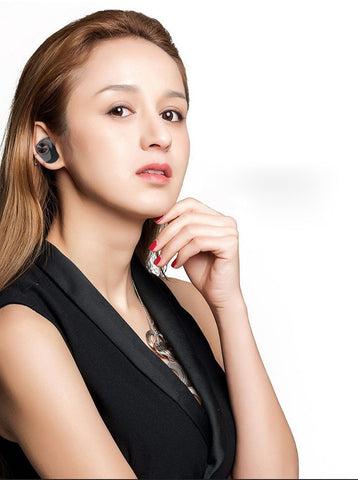 Image of New TWS Earphone Waterproof Bluetooth 5.0 Headset Mini TWS Twins V5 Wireless Earphone In-Ear Sport Stereo Earbuds