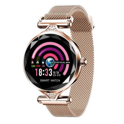 Image of New Women Fashion Smart Watch Blood Pressure Heart Rate Sleep Monitor Pedometer