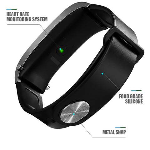 Image of Iband M8 Smartwatch With Bluetooth Headset