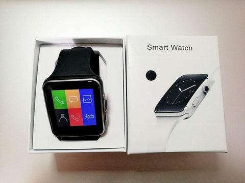 X6 Smartwatch With Camera And SIM Card Support