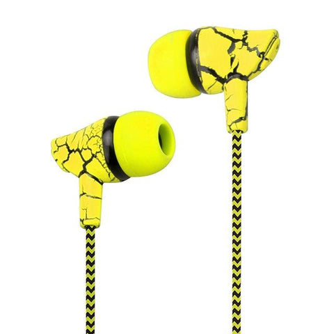 Image of Snake Skin Style Super Bass Headset with Microphone Hands Free Headphones