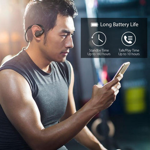 Image of New Sweatproof Wireless Bluetooth Earphone In Ear Apt-x NFC Sports Stereo Earbud for Running for IOS Androids Windows