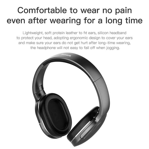 Foldable Bluetooth Headphones with Mic