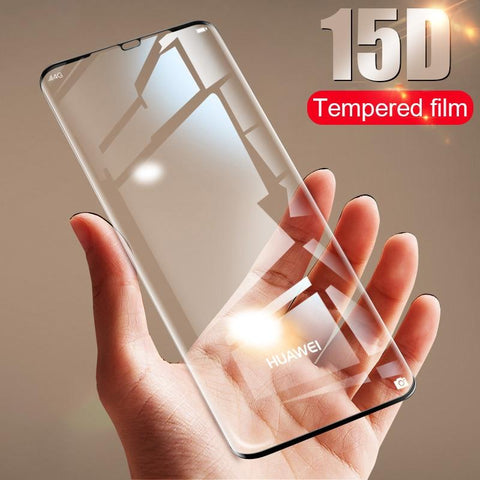 15D Tempered Glass Screen Protector For Huawei