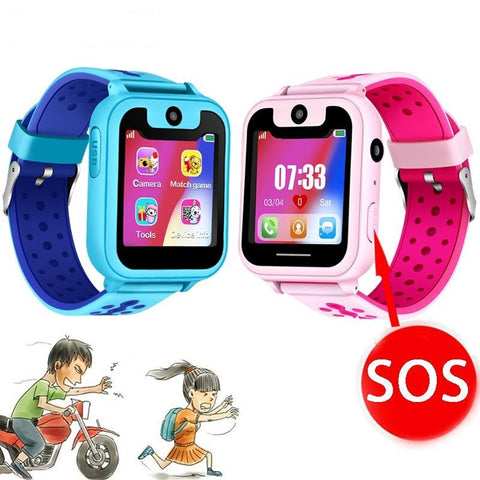2019 New Smart watch for Kids SOS Call Location Finder Locator Tracker