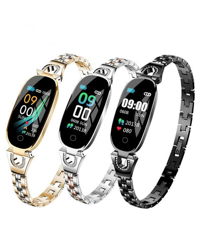 Women's Fashion Smartwatch Fitness Bracelet