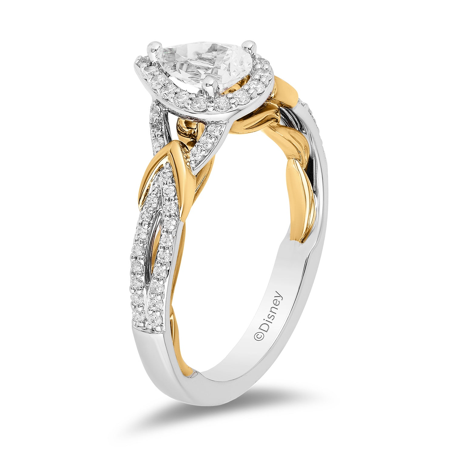 enchanted_disney-snow-white_engagement_ring_3/4CTTW_4