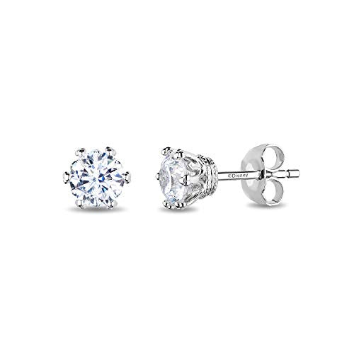 enchanted_disney-majestic-princess_1_3_cttw_diamond_solitaire_earrings-14k_white_gold_1/3CTTW_1