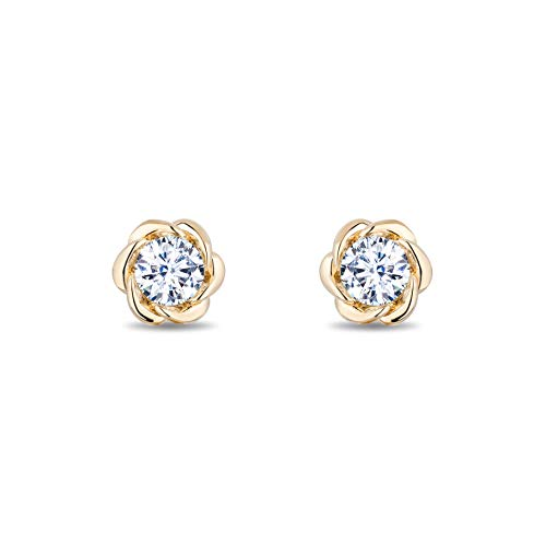 enchanted_disney-belle_1_2_cttw_diamond_solitaire_earrings-14k_yellow_gold_1/2CTTW_3