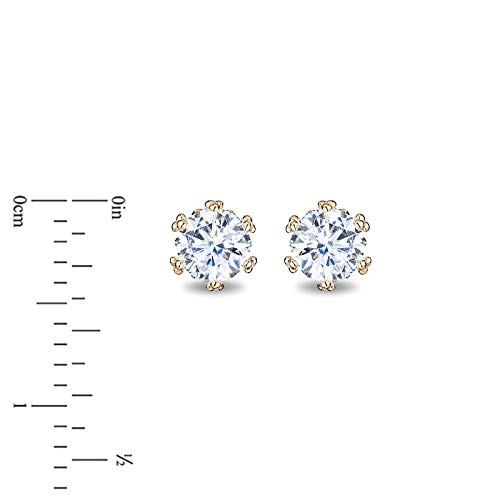 enchanted_disney-majestic-princess_1_3_cttw_diamond_solitaire_earrings-14k_yellow_gold_1/3CTTW_2