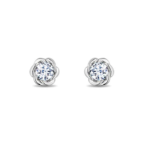 enchanted_disney-belle_solitaire_earrings-14k_white_gold_1/2CTTW_2