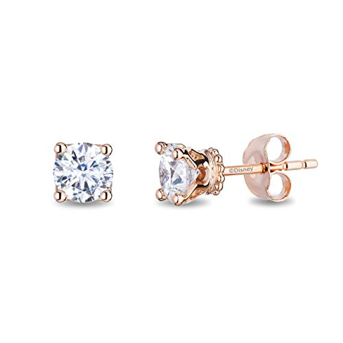 enchanted_disney-majestic-princess_solitaire_earrings-14k_pink_gold_1/2CTTW_1