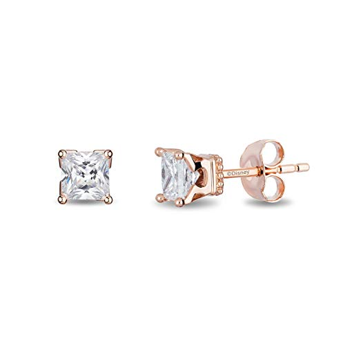 enchanted_disney-majestic-princess_solitaire_earrings-14k_pink_gold_1/3CTTW_1