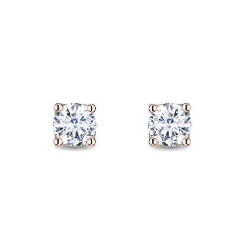 enchanted_disney-majestic-princess_solitaire_earrings-14k_pink_gold_3/4CTTW_3
