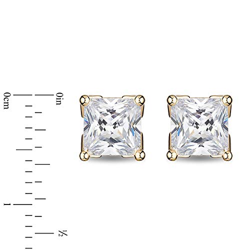 enchanted_disney-majestic-princess_3_4_cttw_princess_cut_diamond_solitaire_earrings-14k_yellow_gold_3/4CTTW_2