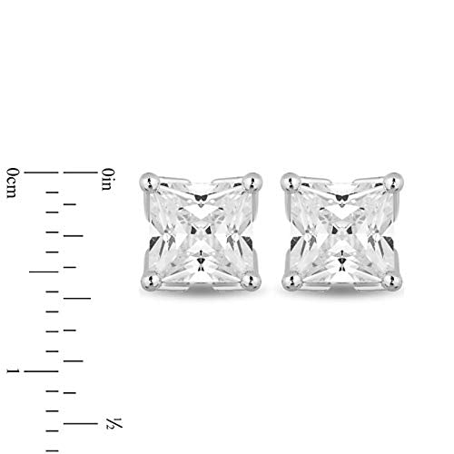 enchanted_disney-majestic-princess_3_4_cttw_princess_cut_diamond_solitaire_earrings-14k_white_gold_3/4CTTW_4