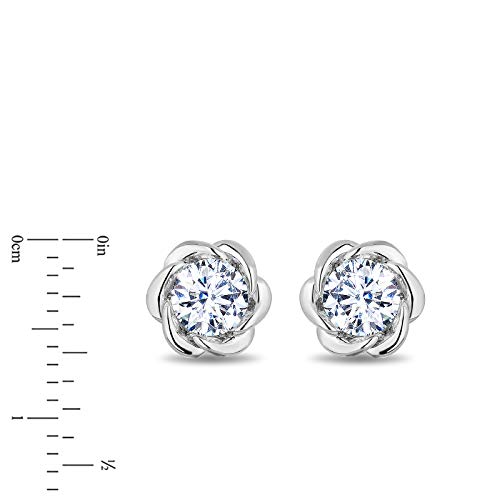 enchanted_disney-belle_solitaire_earrings-14k_white_gold_1/2CTTW_5