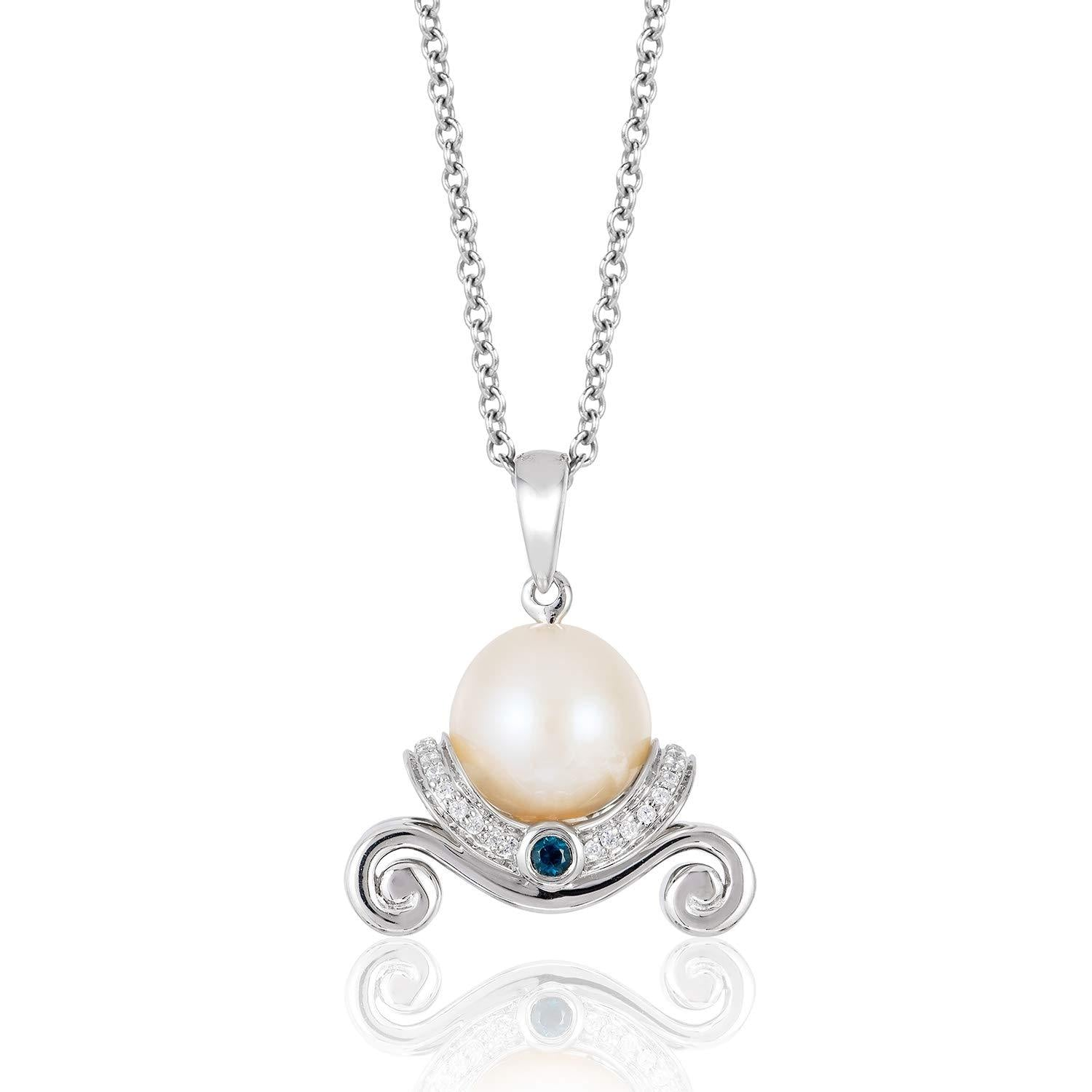 enchanted_disney-cinderella_pearl_london_blue_topaz_pendant-sterling_silver_1/10CTTW_1