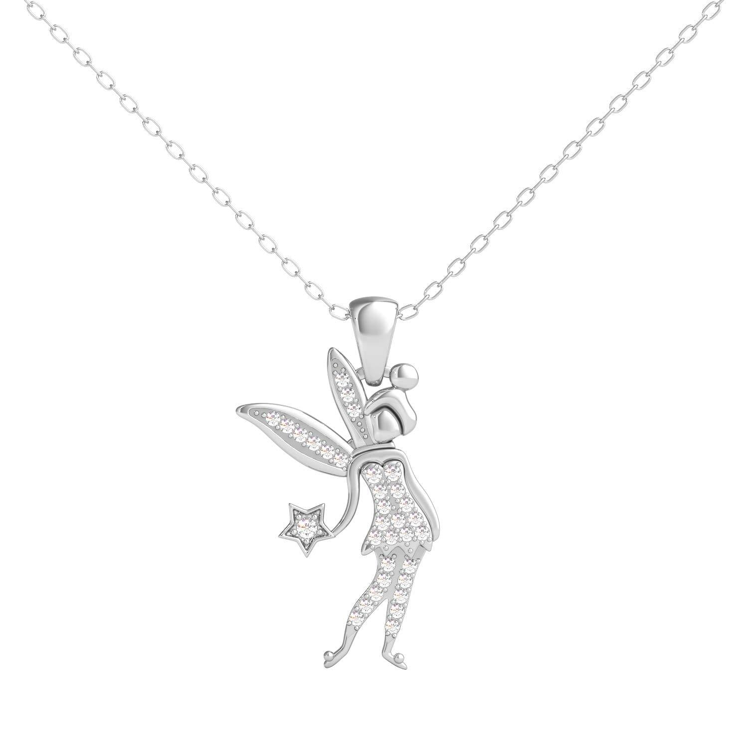 enchanted_disney-tinker-bell-white_diamond_disney_pendant-sterling_silver_1/10CTTW_1