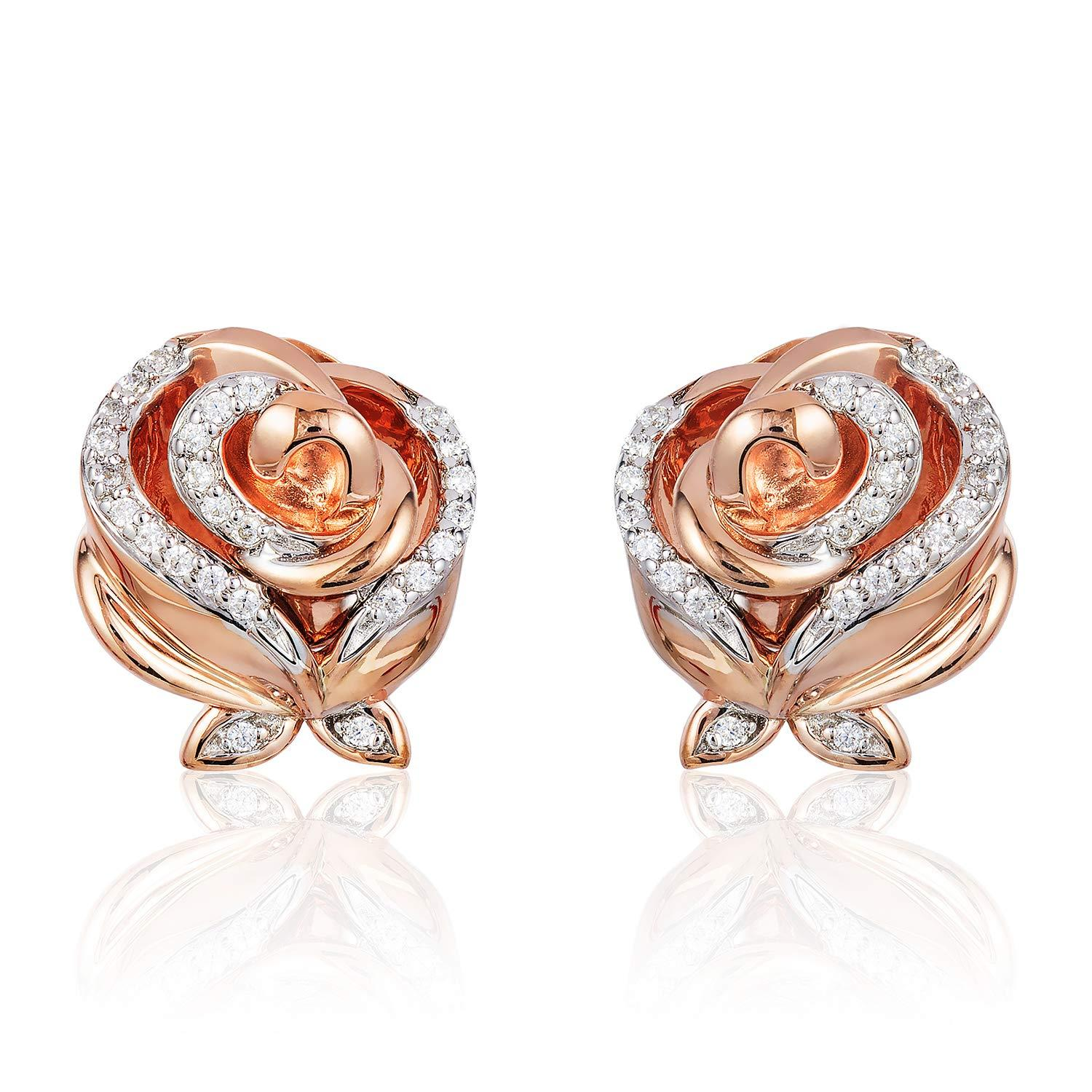 enchanted_disney-belle_earrings-10k_rose_gold_1/8CTTW_1