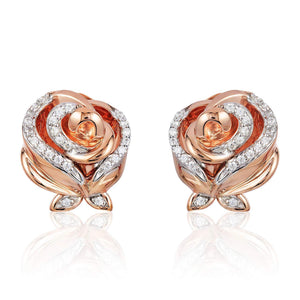 enchanted_disney-belle_earrings-10k_rose_gold_1/8CTTW