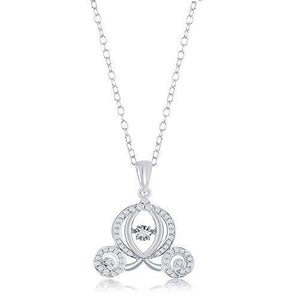 enchanted_disney-cinderella_carriage_pendant-10k_white_gold_1/5CTTW