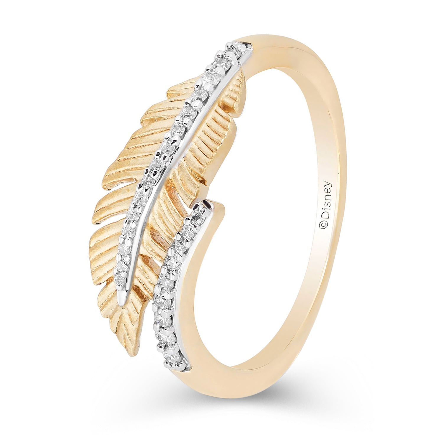 enchanted_disney-pocahontas_feather_ring-10k_white_and_yellow_gold_1/10CTTW_4