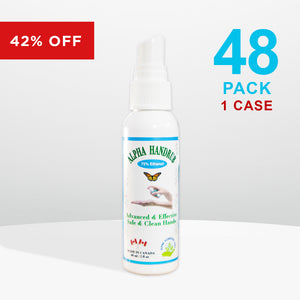 48 bottles - Alpha Handrub - 60ml (2 oz)
