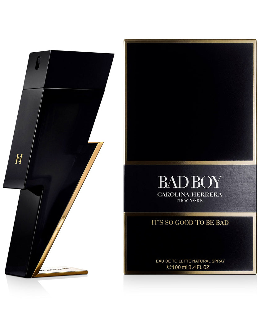 Carolina Herrera Men's Bad Boy Eau de Toilette Spray, 3.4-oz